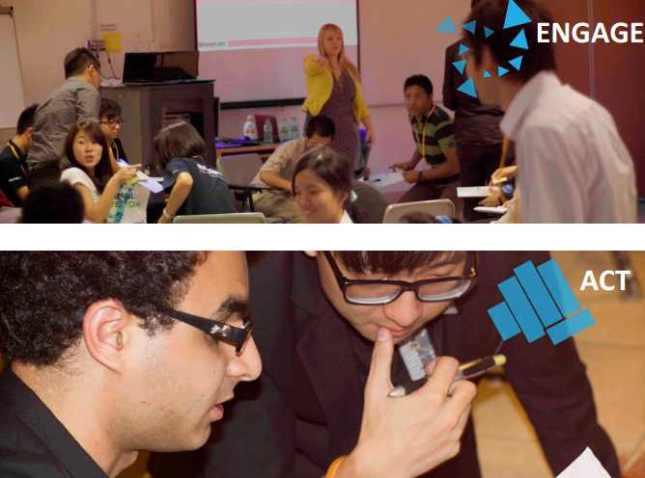 Podczas jednego z prowadzonych przeze mnie warsztatów, symulacja pracy w startupie