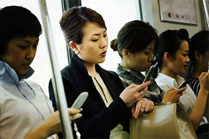 Typowy poranek w metrze LRT.