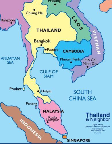 Todays-Cambodia-Map