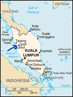 Ipoh_on_Malaysian_map