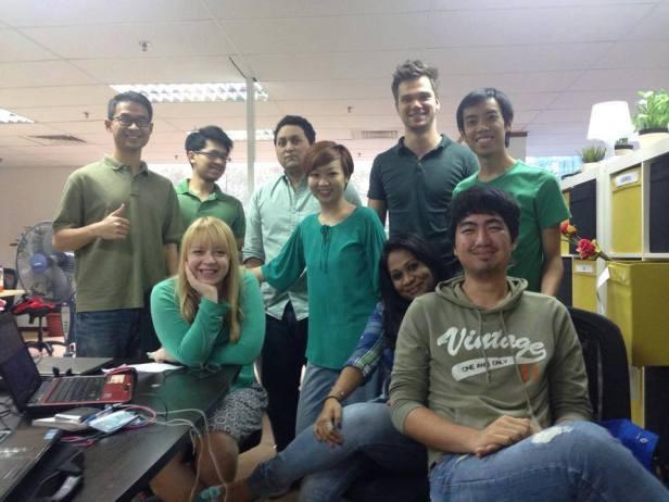 Zdjęcie z tego tygodnia - nasze zielone obchody dnia św. Patryka w biurze