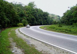 Autostrada E8 w Malezji. Straszna?
