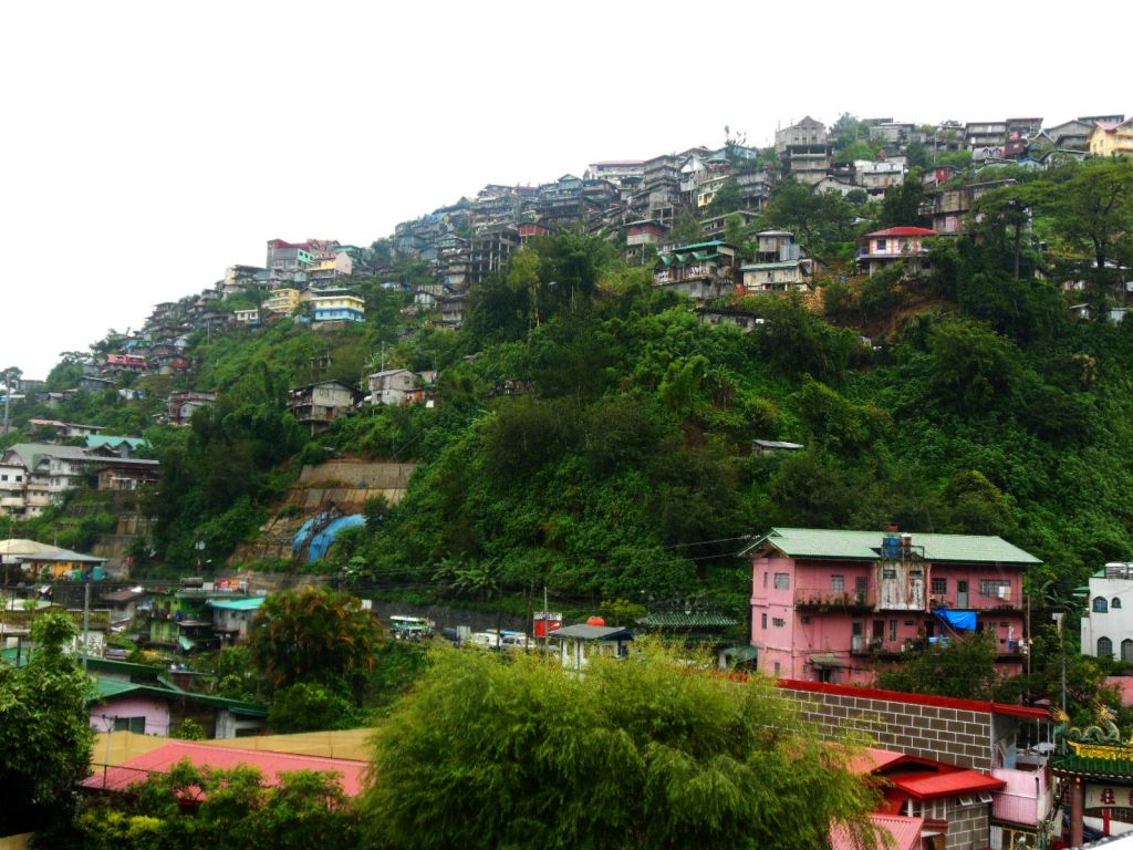 Widok na Baguio.