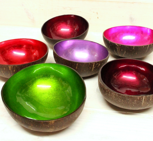 fair trade blog laquered coconut bowls