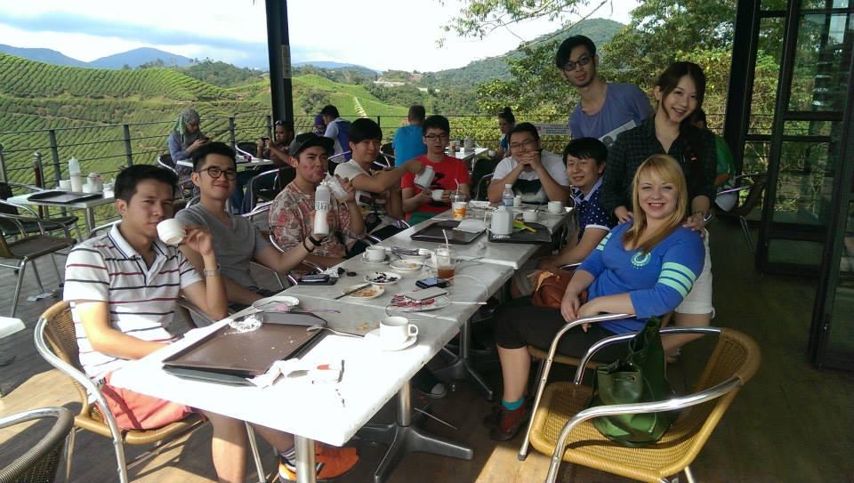 Firmowa wycieczka do Cameron Highlands, herbatka przy plantacjach