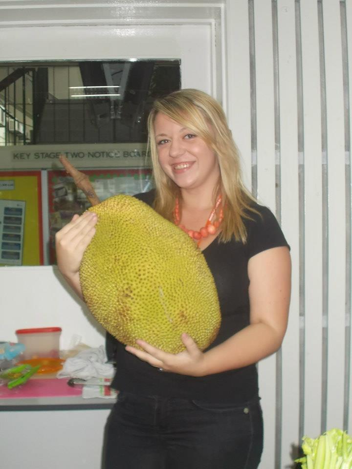 Jackfruit w standardowym rozmiarze