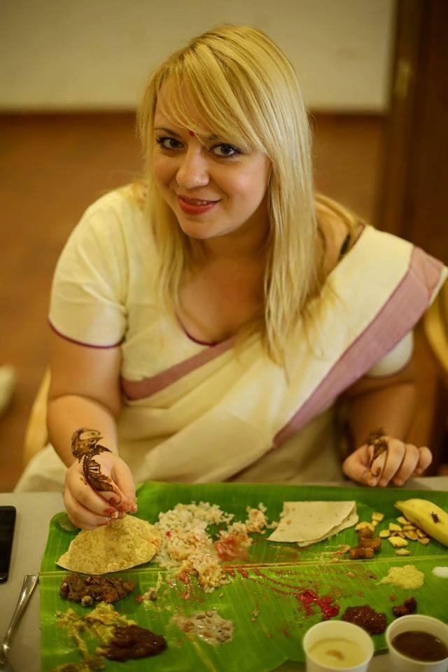 Tak to mogę jeść codziennie! Sadya w Kerali. Fot: Kerala Tourism