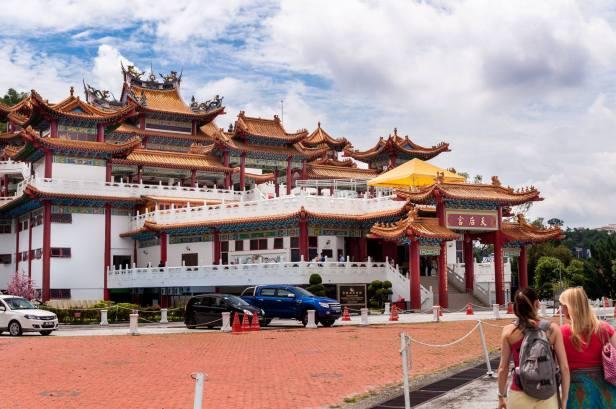 Darmowo: Świątynia Thean Hou Zdjęcie: B. Tyburczy