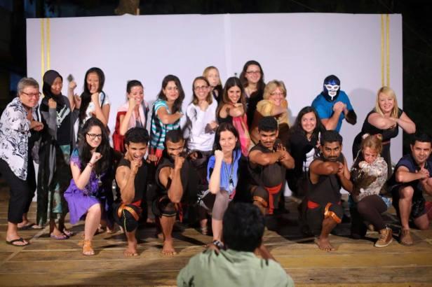 Kerala Blog Express i wojownicy kalari