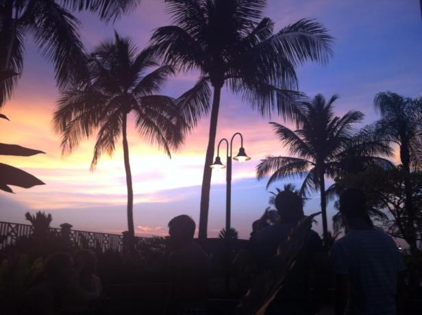 Lepiej znajdźcie sobie pokój z oknem, bo zachody słońca w Malezji są przecudne!