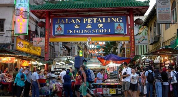 Wejście do Chinatown - nigdy nie łapcie tu taksówki!