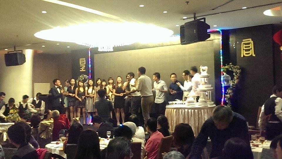 Karaoke na scenie