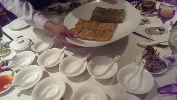 Deser - ciastka i zupa z czerwonej fasolki na słodko