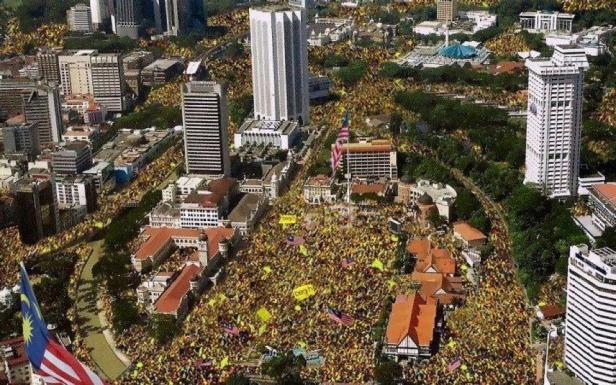 Protest ruchu Bersih, Kuala Lumpur, rok 2012