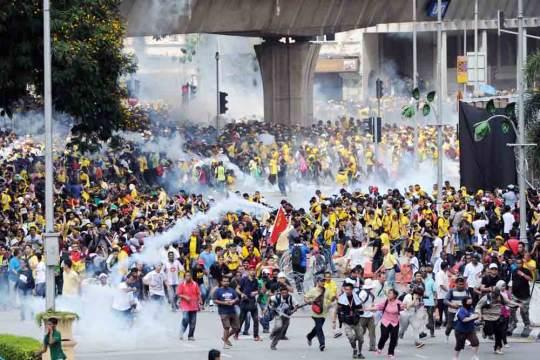 Protest ruchu Bersih w 2012 roku w Kuala Lumpur