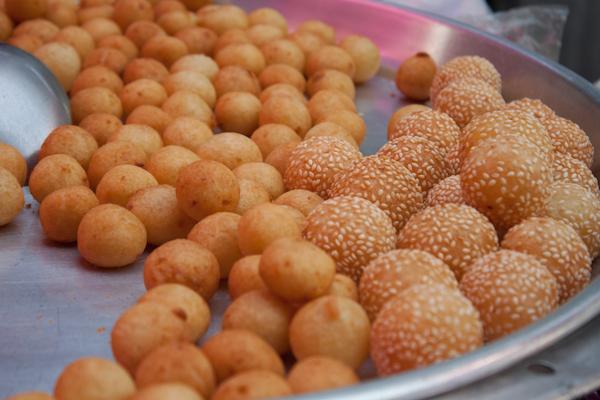 słodkie kulki z ziemniaków z Malezji