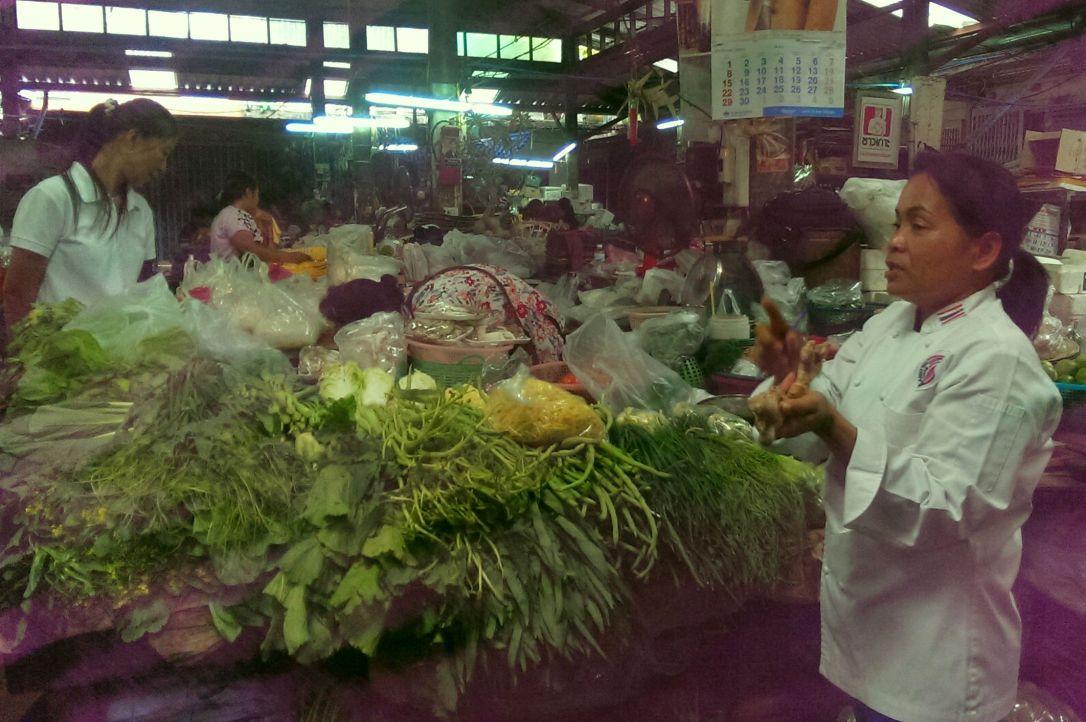 Chef Leez na bazarku