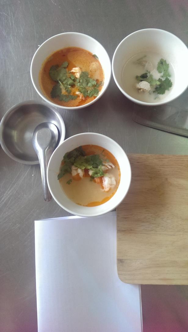 Własnoręcznie zrobiona zupa tom yam