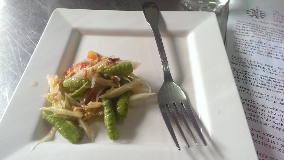 Sałatka z papai