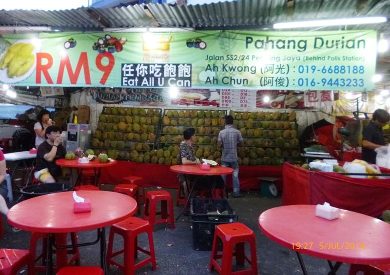 Durianowy bufet: zapłać raz i jedz ile chcesz!