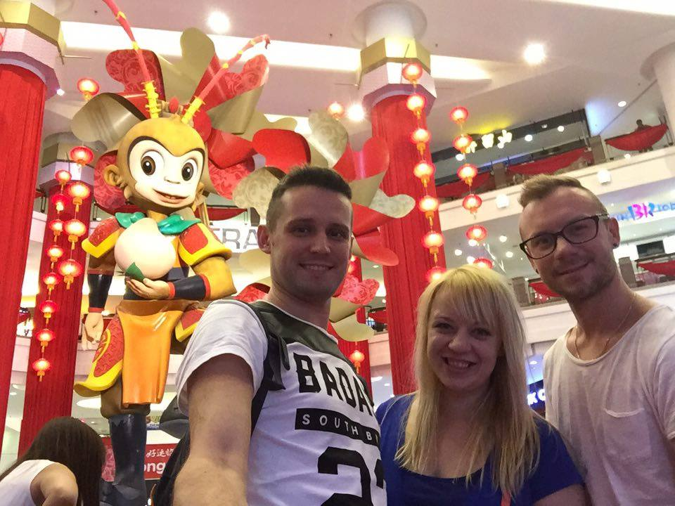Touring well-known vloggers from Poland: KaDo, in Kuala Lumpur