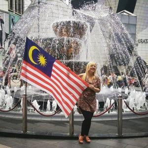 Zuzanna in Kuala Lumpur, 2016