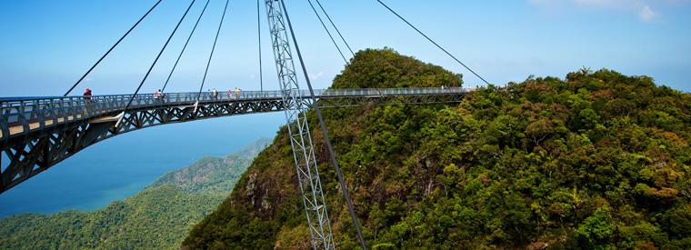Sky Bridge na wyspie Langkawi