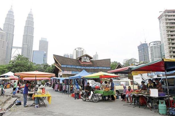 Dzielnica Kampong Baru (źr. The Star Malaysia)