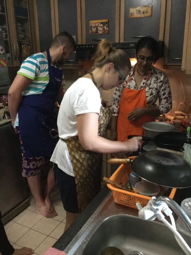 Parę godzin w kuchni? Żaden problem, z Ruth i moim wyborowym towarzystwem to przyjemność :)