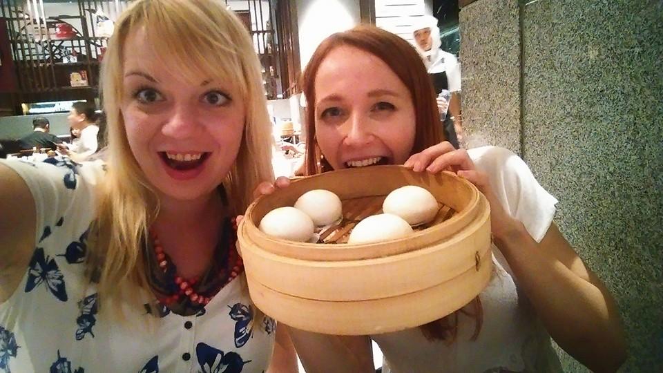 Radość wielka - zamiast ryżu dziś jemy bułeczki na parze!