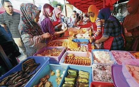 Bazar ramadanowy! Tyle cudowności na ulicy!