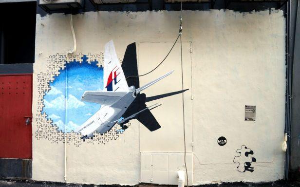 Oczywiste nawiązanie do zaginionego samolotu MH370