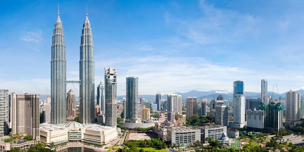 Zwykle Kuala Lumpur wygląda mniej więcej tak