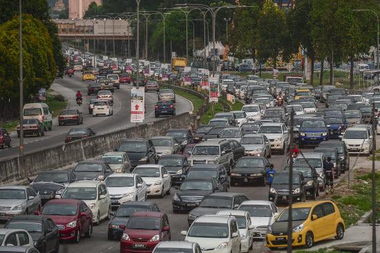 Godziny szczytu w Kuala Lumpur