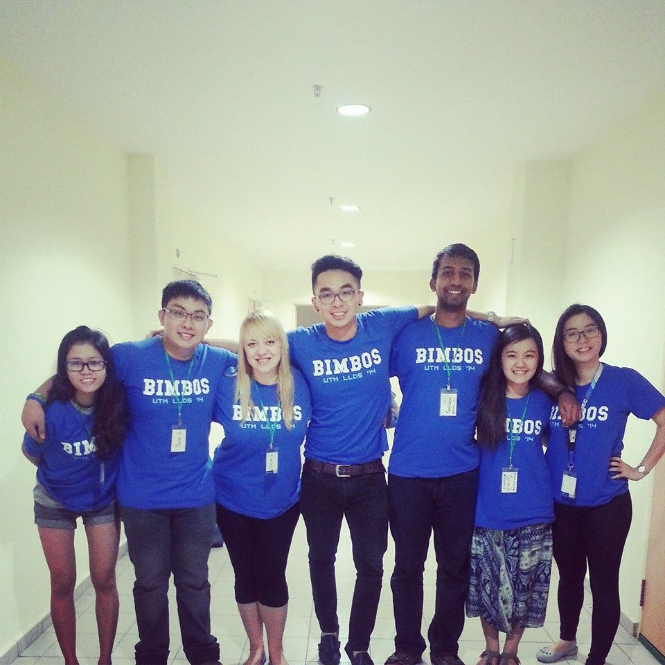 Z ekipą trenerów na konferencji AIESEC w 2014 roku