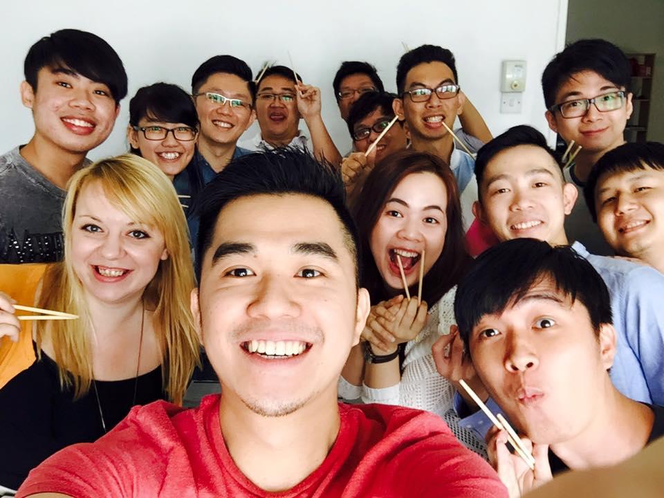 Z ekipą w pracy, 2015 rok
