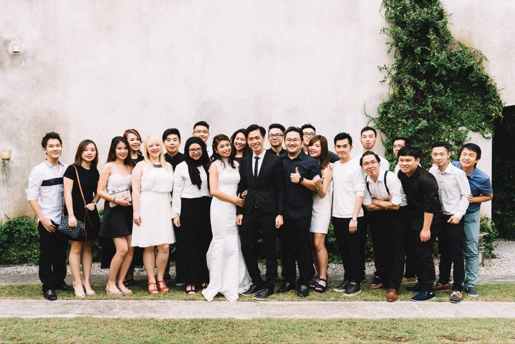 Na weselu kolegi z pracy, 2016 rok